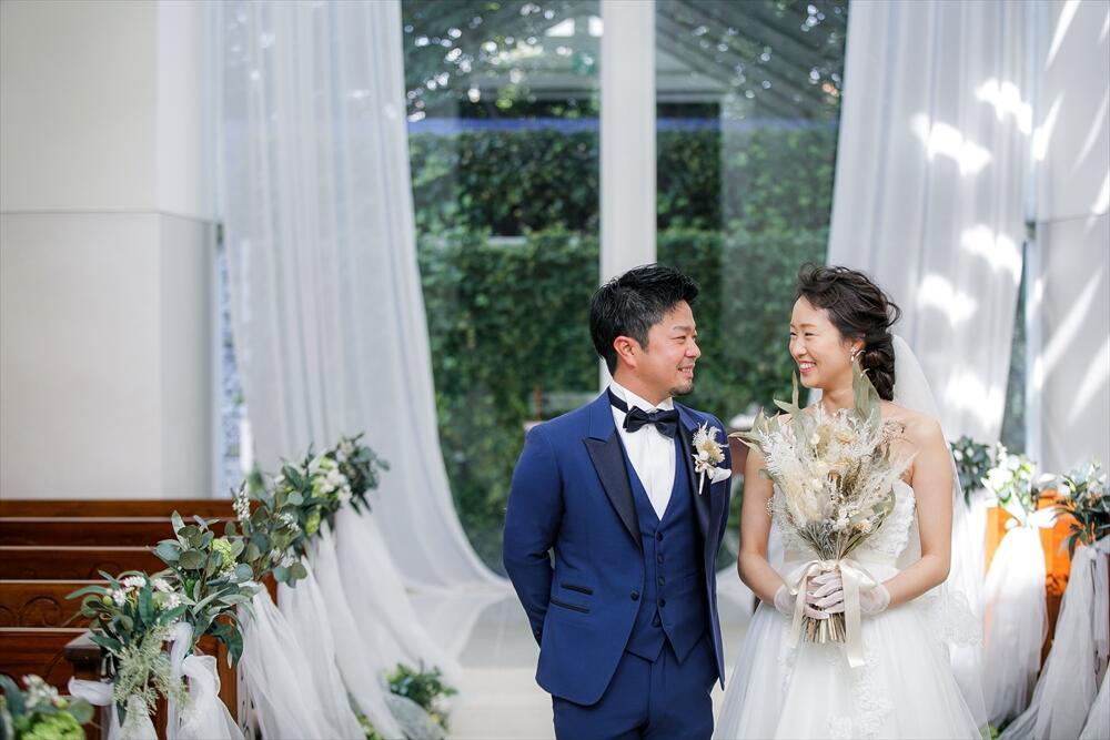 at home & natural wedding !!!